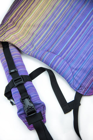 Kokoskaa Onbuhimo Twiller Dreaming - purple weft-Natural Weft- Full wrap conversion
