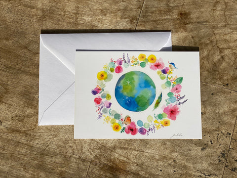 Mother Earth Greetings Card
