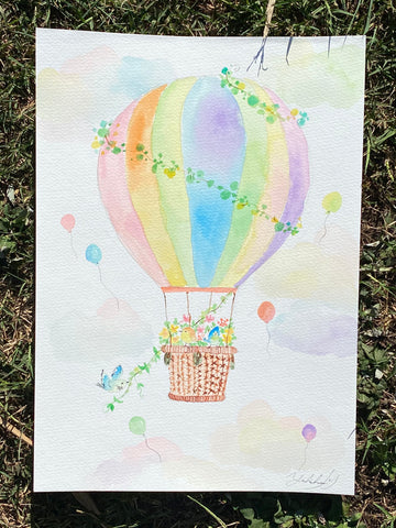 Rainbow balloon Original