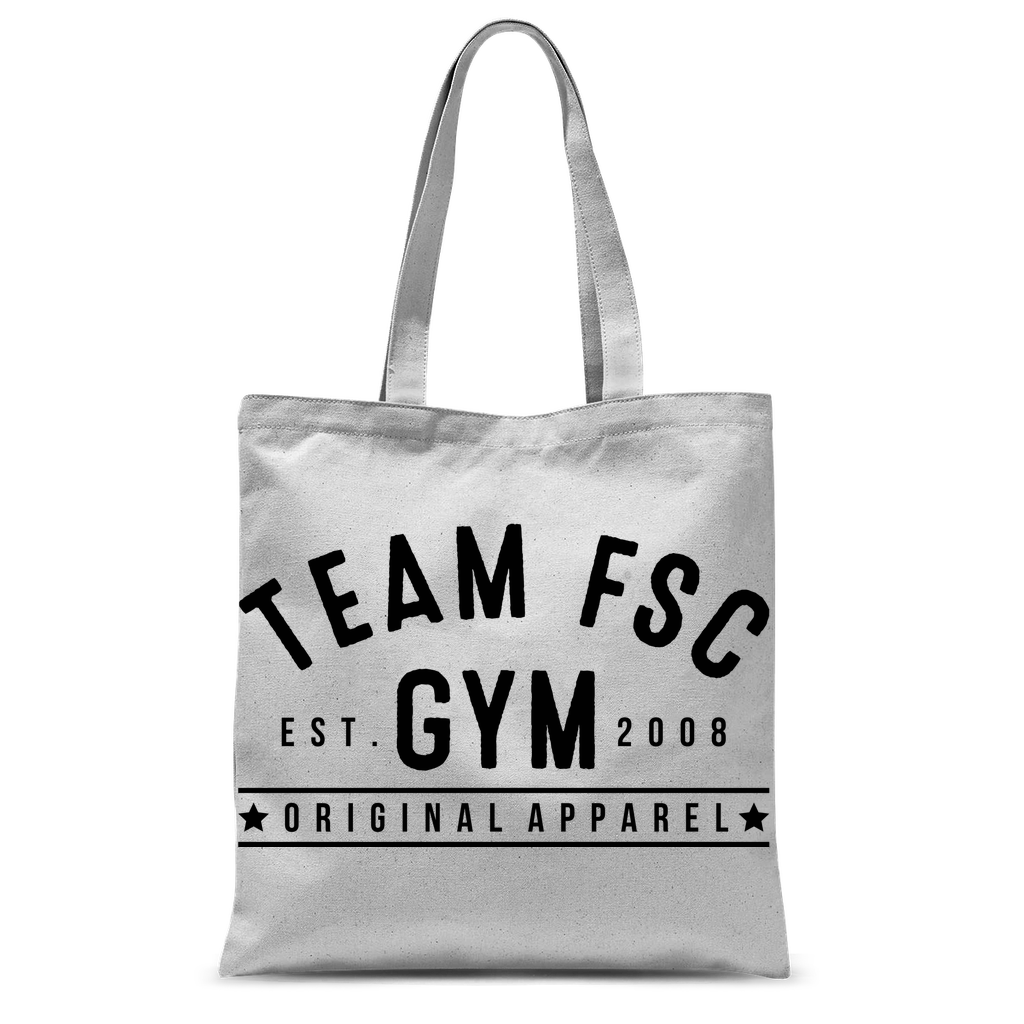Team FSC Vintage Classic Sublimation Tote Bag