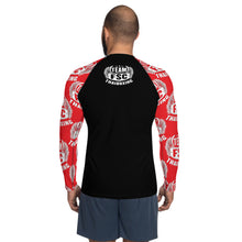 Load image into Gallery viewer, Team FSC RED & BLACK Men's Rash Guard