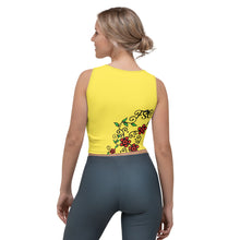 Load image into Gallery viewer, Team FSC Sugar SKulls Croptop YELLOW