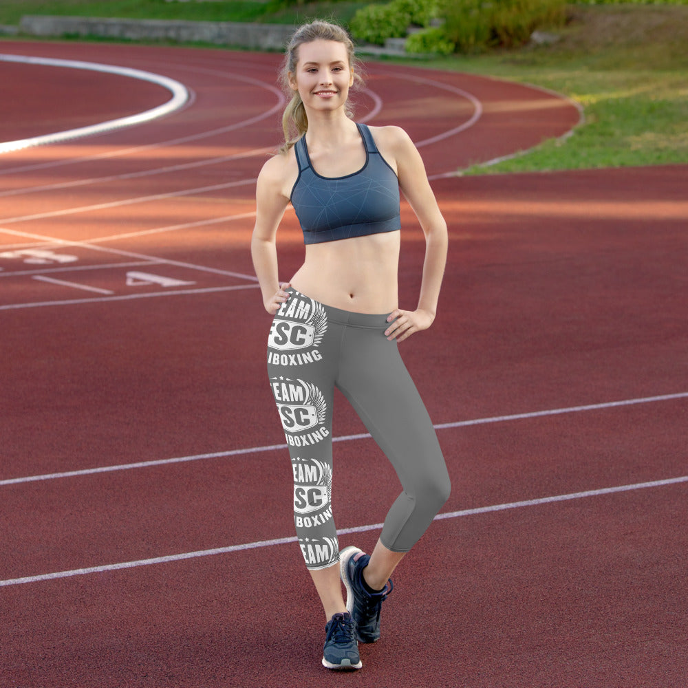 Team FSC Squad Logo Side Stripe Leggings