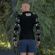 Load image into Gallery viewer, Team FSC SKULLS & BLACK Rash Guard