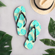 Load image into Gallery viewer, Tropical Teep Team FSC Flip-Flops