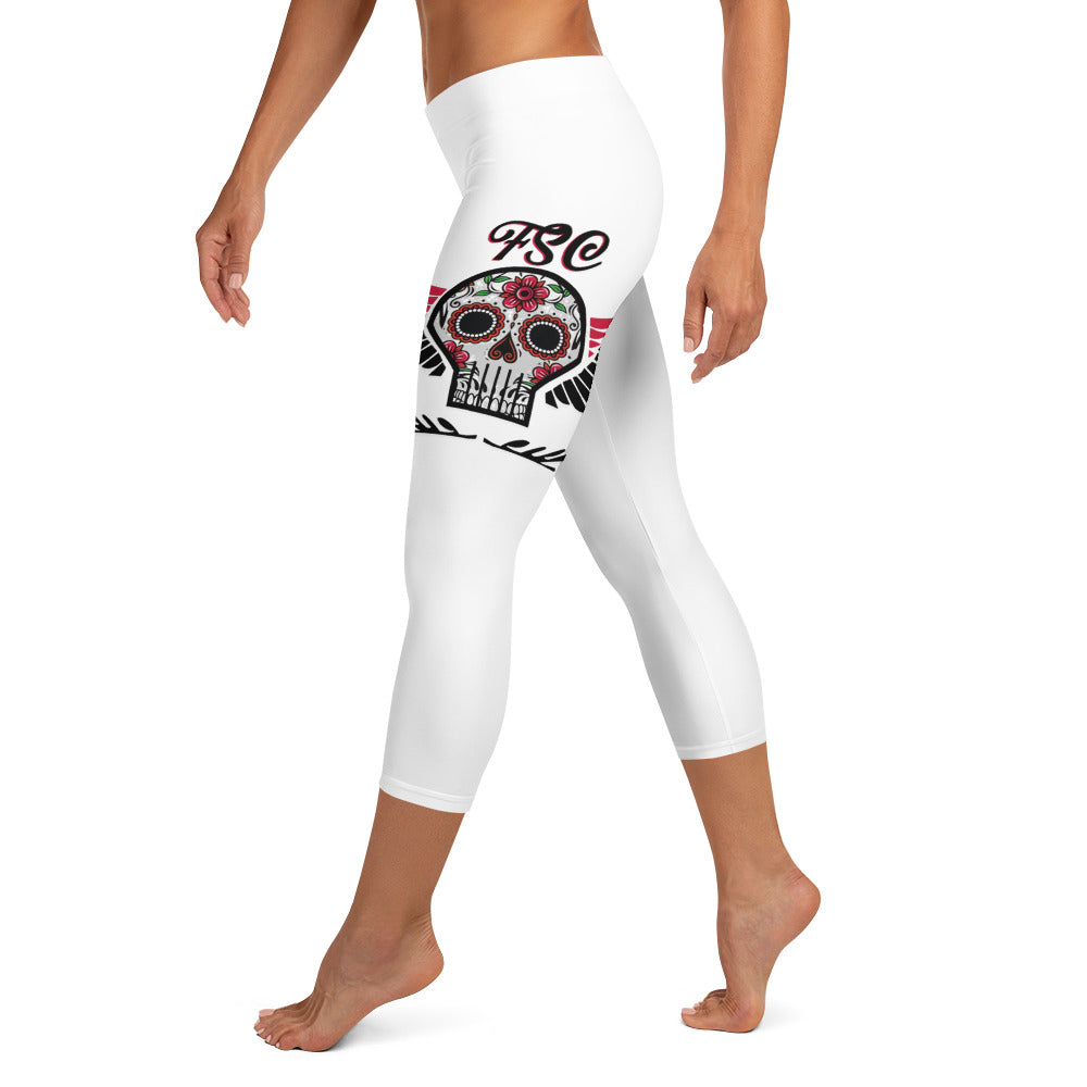 Team FSC Sugarskulls Capri Leggings