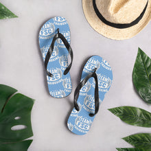 Load image into Gallery viewer, Summer Blues Team FSC Flip-Flops