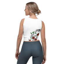Load image into Gallery viewer, Team FSC Sugar Skull Crop Top