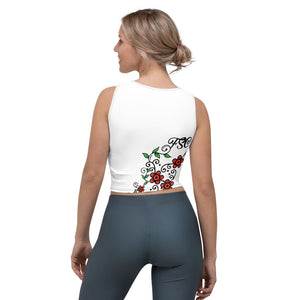 Team FSC Sugar Skull Crop Top