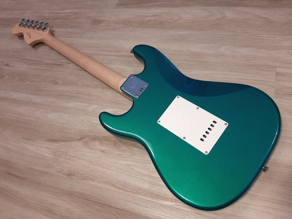 2018 Squier Affinity by Fender® Race Green SUPER Mod'd HSS Stratocaster NOS
