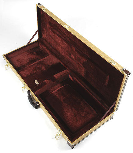 Elite ® Pro Series FC-200 Hardshell Case Tweed look for strat / tele guitars