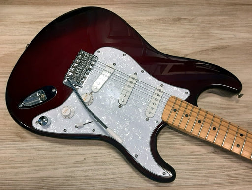 1996 FENDER ® Stratocaster RARE Midnight Wine color w/ MODS,1 of a Kind