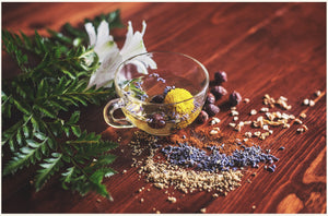 Herbs made into to for Holistic care