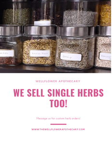 Single Herb Orders- Custom
