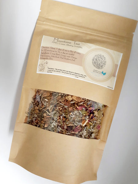 Moontime Tea- Menstrual Cycle Relief (PMS symptoms)