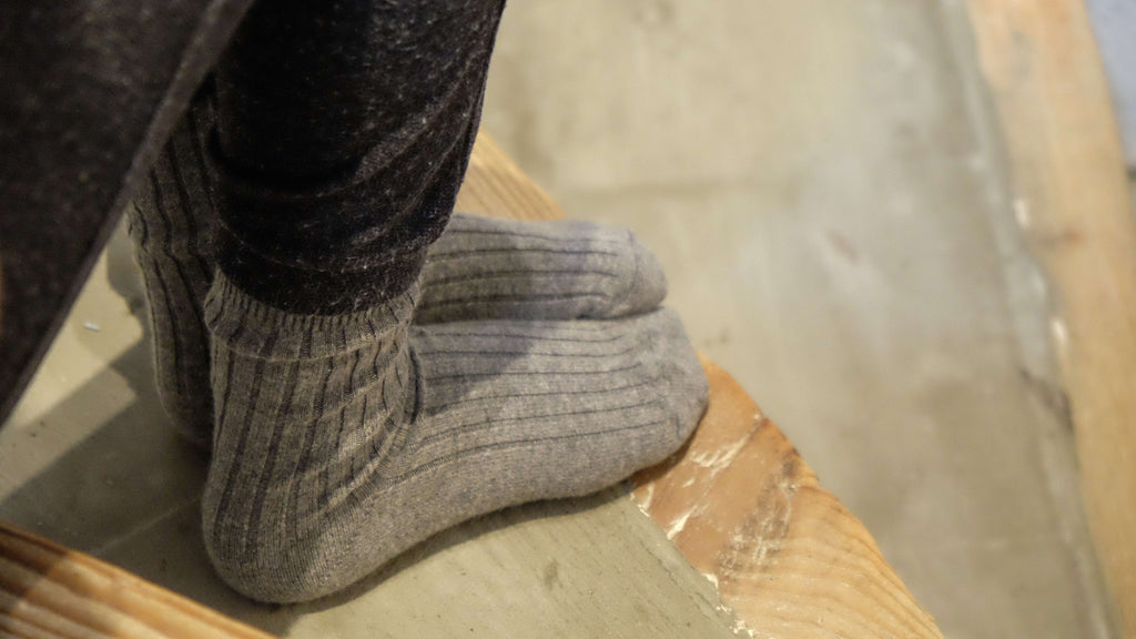 Socks Wool-Cashmere BLACK