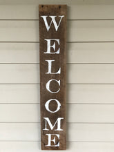 Load image into Gallery viewer, Welcome Barnwood sign