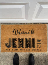 Load image into Gallery viewer, Personalized Logo Doormat