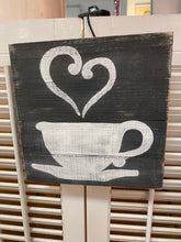 Load image into Gallery viewer, Coffee Cup Sign