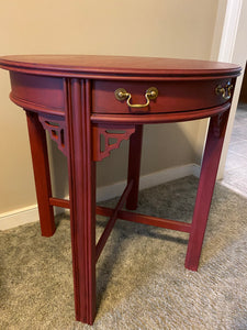 Refinished Lane Side Table