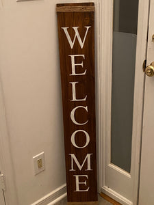Welcome Porch Sign