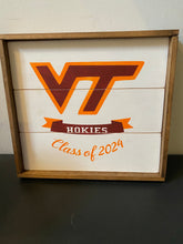 Load image into Gallery viewer, Collegiate Shiplap Signs