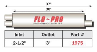 "FLO~PRO Heavy Duty 8"" Round Case 