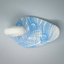 Load image into Gallery viewer, Bird of a Different Feather Hand-etched Bas Relief Ceramic Figure
