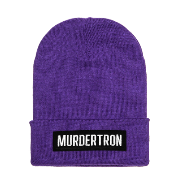 BRICK CUFF BEANIE - PURPLE