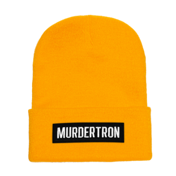 BRICK CUFF BEANIE - YELLOW