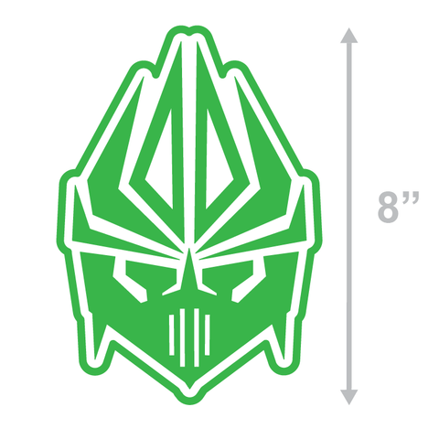 FACE LOGO - GREEN