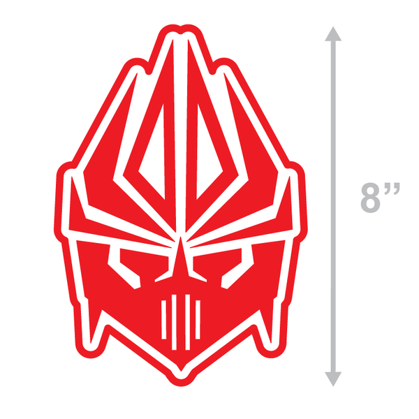 FACE LOGO - RED