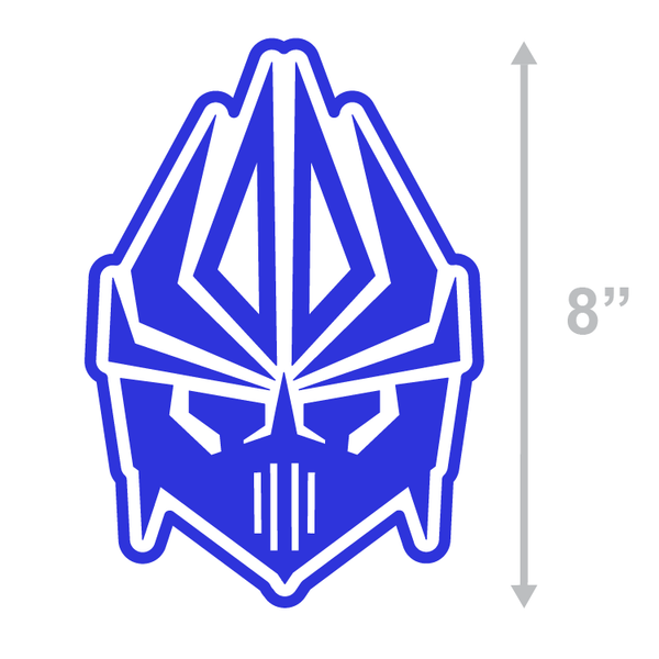 FACE LOGO - ROYAL BLUE
