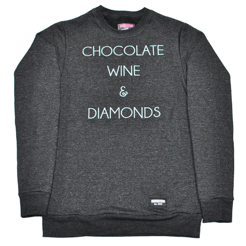 CHOCOLATE, WINE & DIAMONDS - BLACK