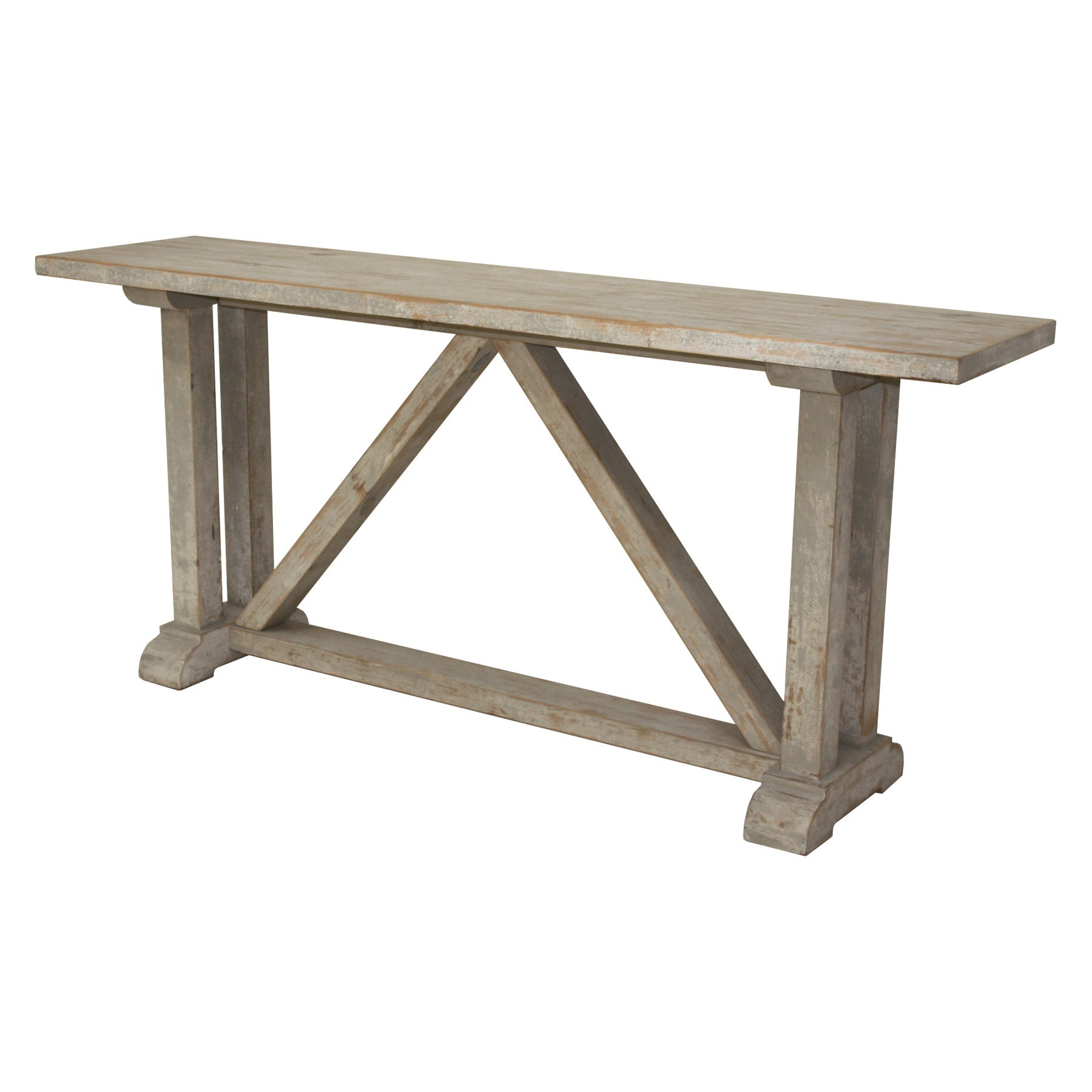 mcdonald farm trestle console table san luis obispo furniture