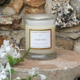 We offer a wide variety of scented candles from the Comfort Candle Co.