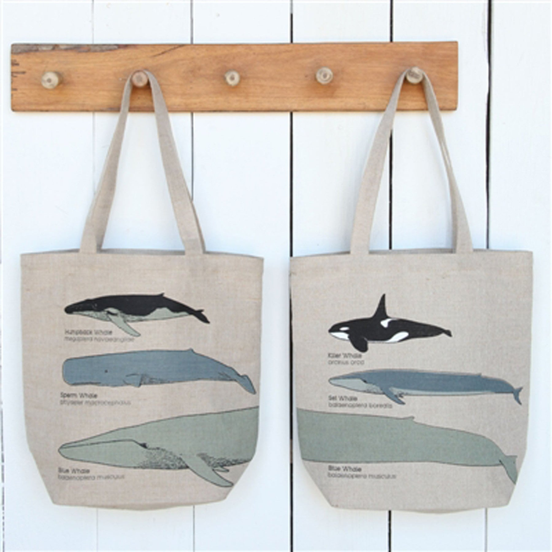 Whale Chart Tote