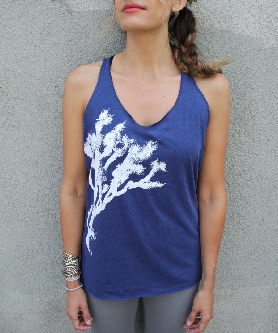 JOSHUA TREE PRINT  Tri-Blend Racerback Tank - Wholesale