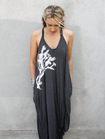 JOSHUA TREE PRINT Maxi Dress