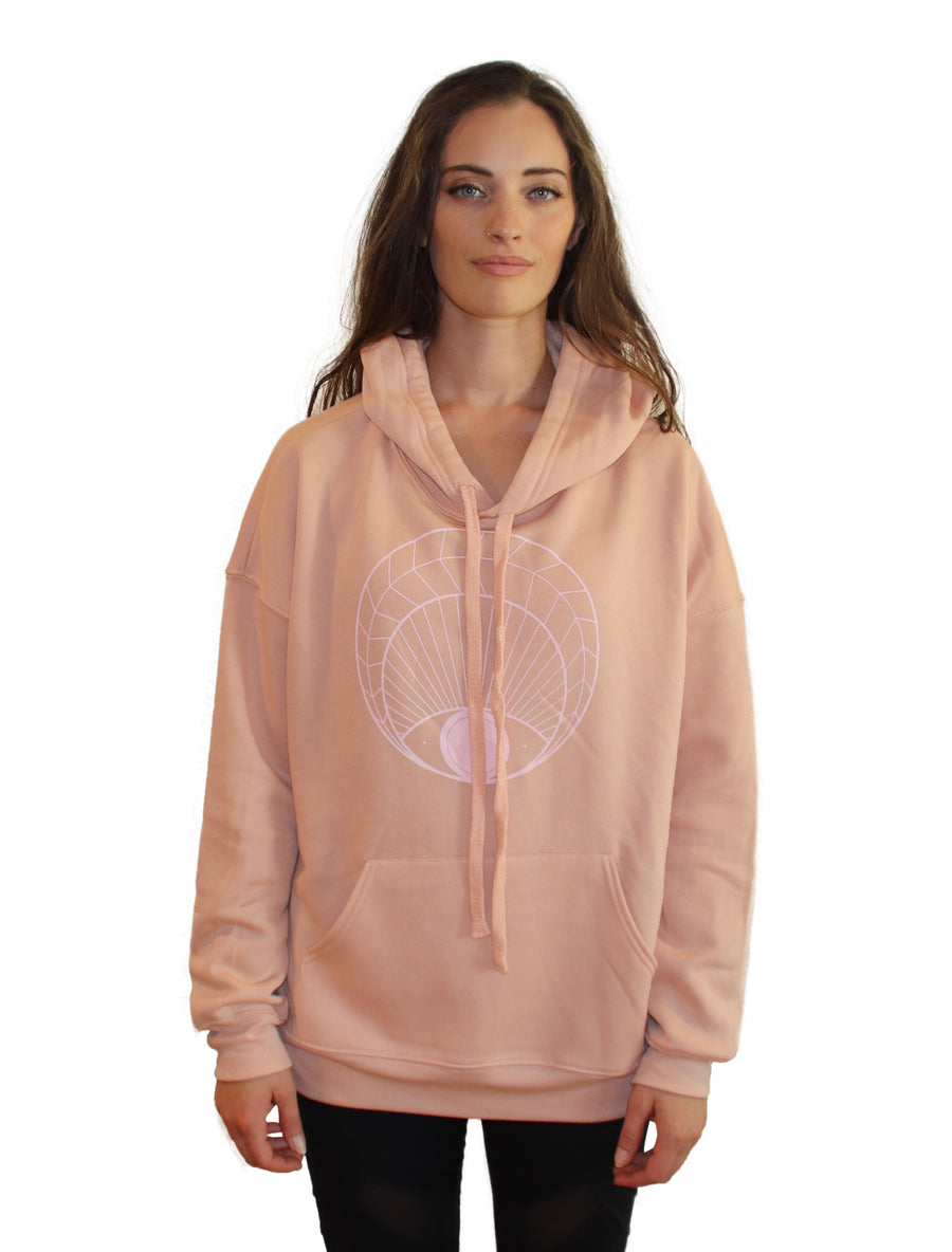 OPEN EYE Full Length Hoodie