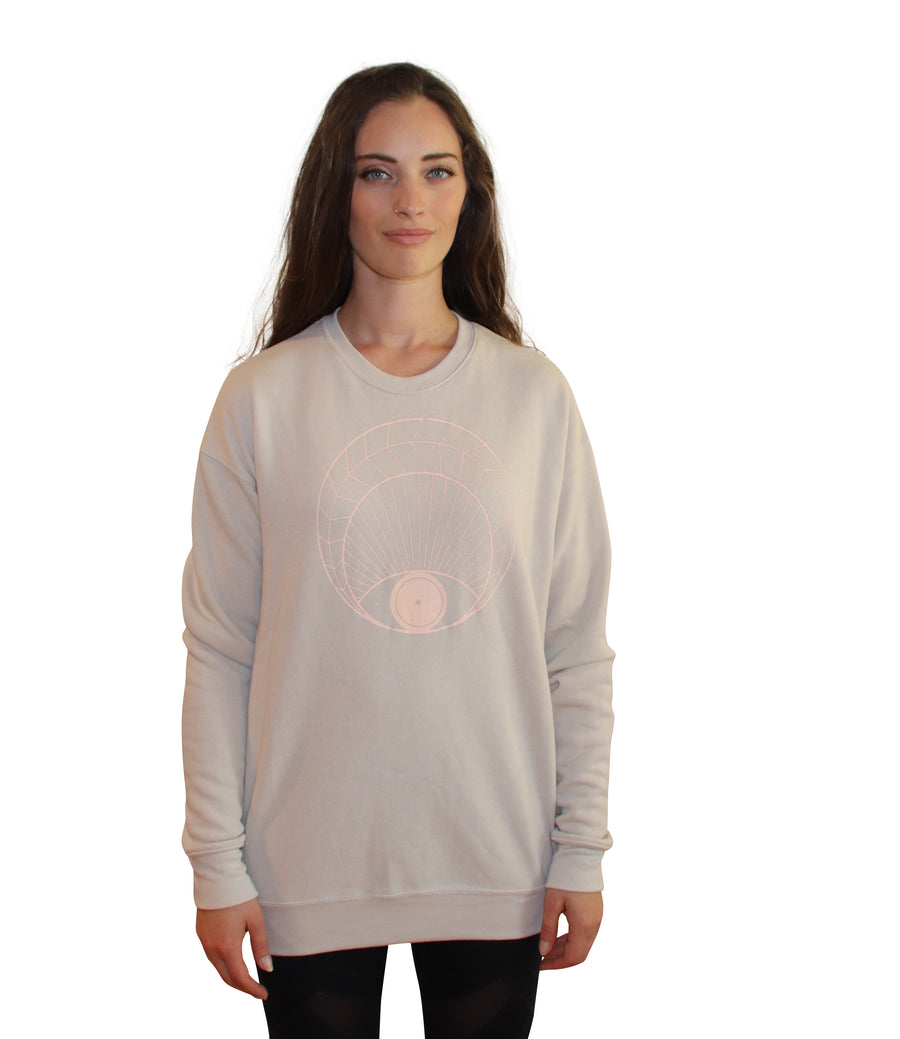 OPEN EYE Full Length Crew Neck