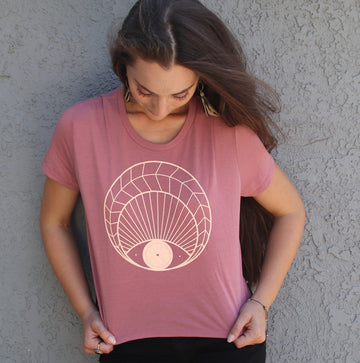 Open Eye Crop Tee - Wholesale