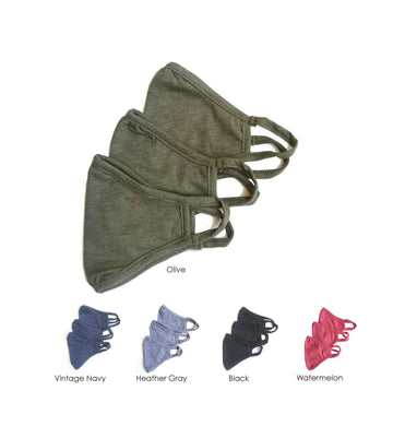Cloth Face Mask double layered/Reusable & Washable/Unisex/Eco-Friendly/Breathable, Lightweight and Comfortable