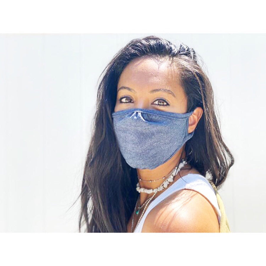 Cloth Face Mask/3 Pack, Solid Colors// double layered/Reusable & Washable/Unisex/Eco-Friendly/Breathable, Lightweight and Comfortable