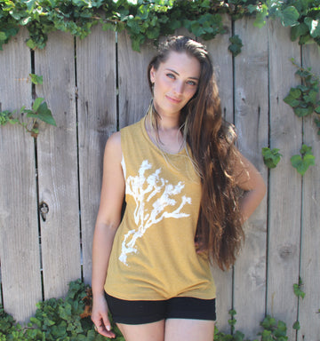JOSHUA TREE PRINT Muscle Tank - Wholesale