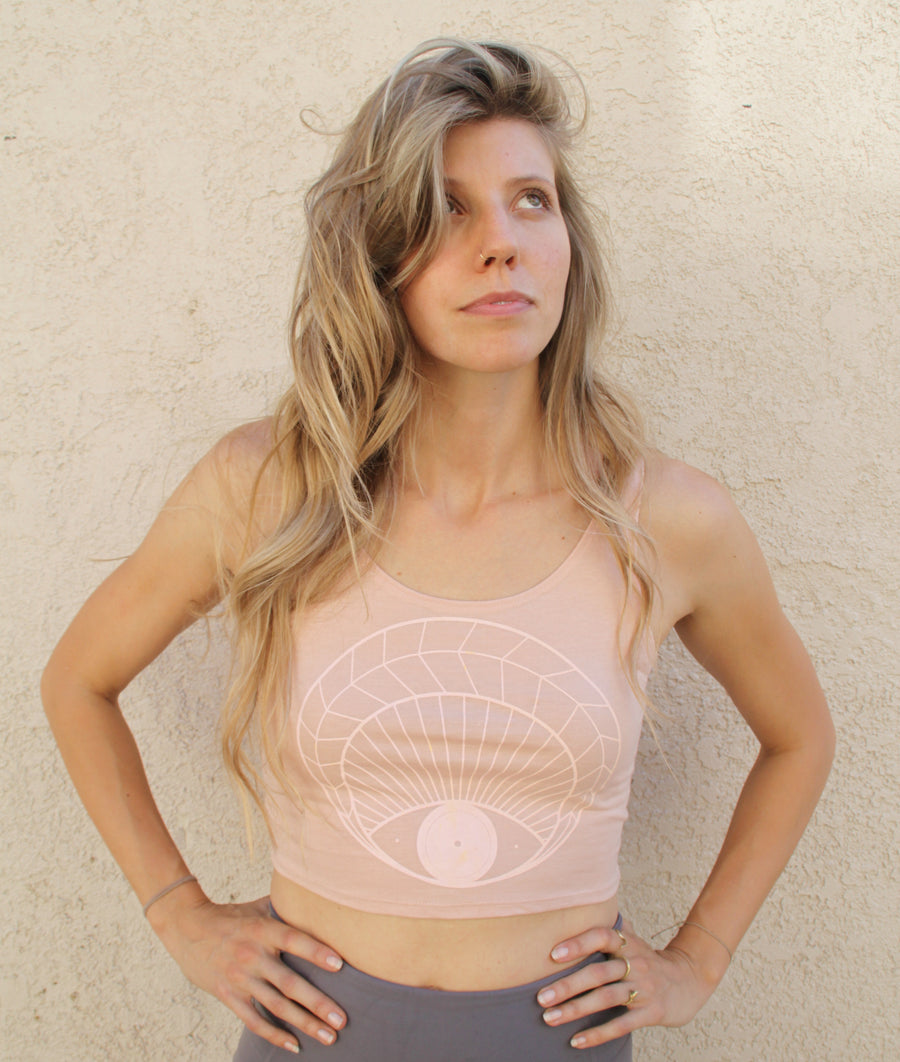 OPEN EYE Crop Tank