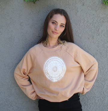 Mandala Raglan Fleece-Wholesale