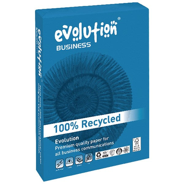 Evolution A3 100gsm Recycled Paper 500 Sheets