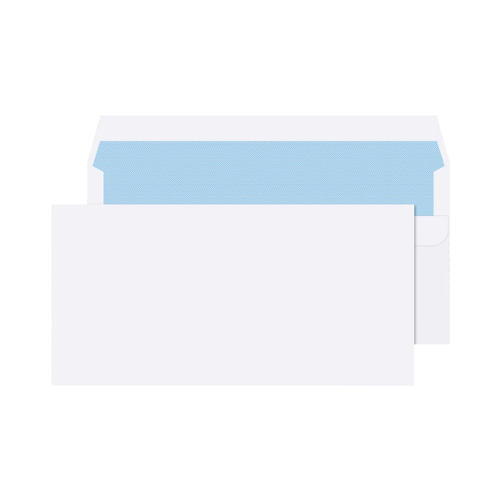 Q Connect Envelope S/S DL 80g White