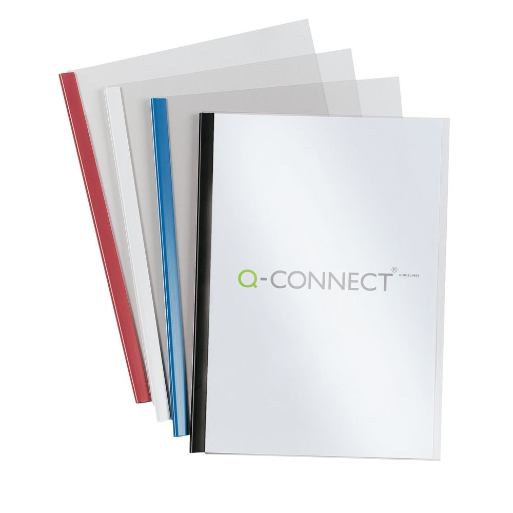 Q Connect Slidebinder/Cover Sets Bk P100